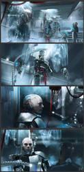 Robocop - Orion City (scene 3) by adamkuczek