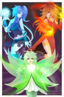 The Elementals by squavery