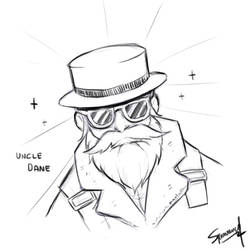 [ TF2 Player ] Uncle Dane sketch by squavery