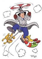 Inspector Gadget by JekyllToons