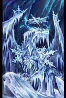 Ancient Dragon Of Ice by Maxa-art