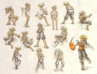 Tild Sketches - part 2 by Maxa-art