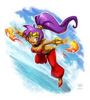 Shantae by Maxa-art