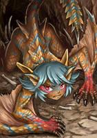 Tigrex-chan by Maxa-art