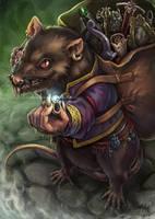 The Rat Merchant by Maxa-art