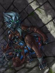 Rogue Salamander by Maxa-art