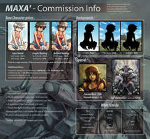 Commission Info - 2017 update by Maxa-art