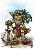 Female Goblin by Maxa-art