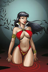 Vampirella by MichaelMetcalf