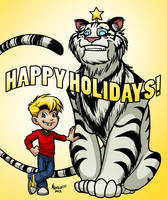 Happy Holidays 2012! by MichaelMetcalf
