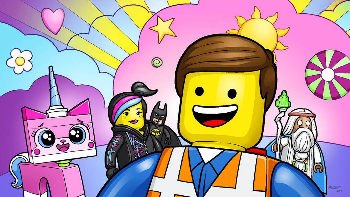 Legomovie Color by MichaelMetcalf