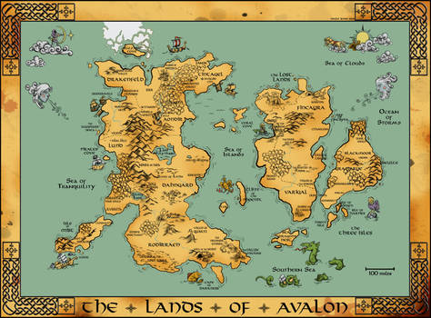 Medieval Map By Fimbulwulf On Deviantart
