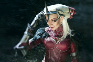 Dragon Age II - Flemeth cosplay by MonoAbel
