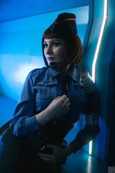 Jessica Sherawat - Resident Evil by MonoAbel