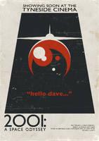 2001 Tyneside Poster by ameba2k