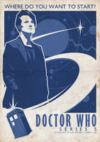Dr Who Poster by ameba2k