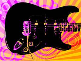 Vector Guitar by Sweetalexiel