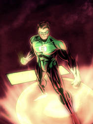 Green Lantern by shanepeters