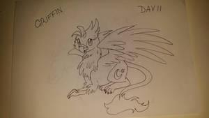 Art Challenge - Day 11 - Griffin by cayfie