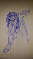 Nightmare Daydream Sketch by cayfie