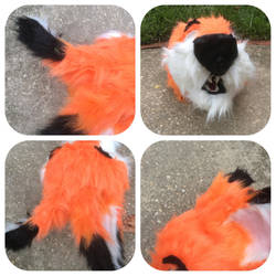 Fox Fursuit Head Pictures 3 by shibblesgiggles01
