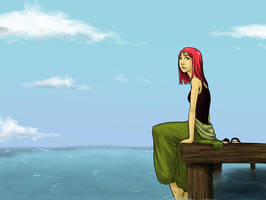 Sittin on the Dock of the Bay by Lovely-Whimsy