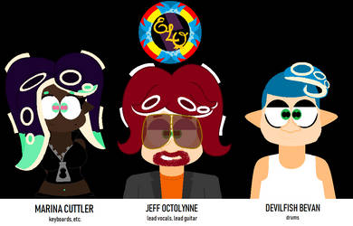 Electric Light Octarians (lineup v.1) by AngryBirdFan