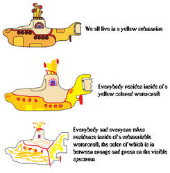 Another Yellow Submarine meme by AngryBirdFan