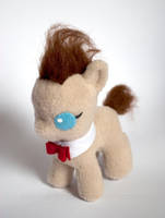 Baby Dr Whooves Plush by ivy-cinder