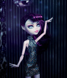 MONSTER HIGH Halter-Neck Dress by ivy-cinder