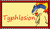 Typhlosion Stamp by ToxicRainbowCupcakes