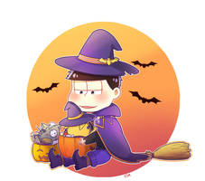 Little witch by Acaelith