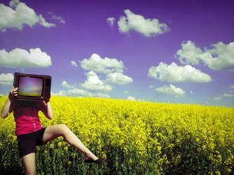 TV-head. follows you by SilentAwakening