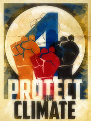 Heroes Protect - Fantastic Four - Climate by KerrithJohnson