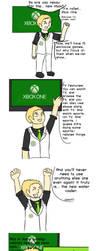 Xbox One more like Xbox Done by Zanreo