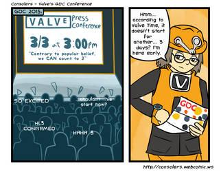 Valve's GDC Conference by Zanreo