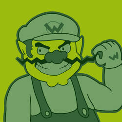 Commission: Wario by Zanreo