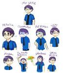 Zan's Style Challenge by Zanreo