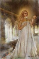 Norse Goddess Freja by zoozee