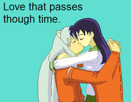 InuYash and Kagome by TheDarknessWolf