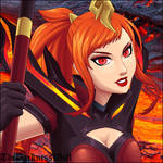 Magma Lux by TheDarknessWolf