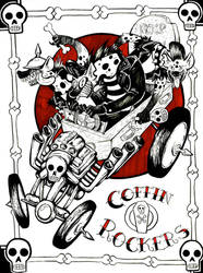 Coffin Rockers by ceallach-monster