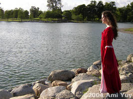 Arwen at the Lake by amiyuy