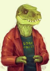 Mr. Rex by ha-jaladara