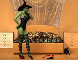 Wicked Witch of the West small by kelkor