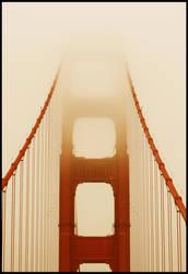 San Francisco Bridge by devilicious