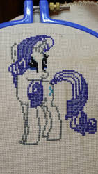 Rarity WIP by chrisluver142003
