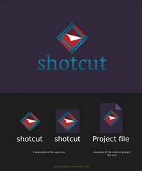proposal Shotcut logo by alezzacreative
