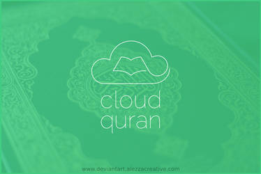 Cloud quran logo by alezzacreative
