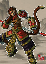 Wukong, The Monkey King by Dalehan